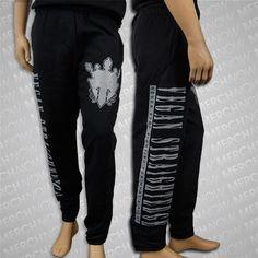 Vegan/Straight Edge Black Sweatpants : Motive Company $30