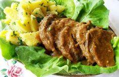 Marinirana junetina u blendiranom sosu od povrća,naš predlog uskršnjeg ručka. Prste da poližete.