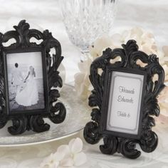 Black Baroque Fame Wedding Favor - Party City