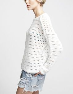 Knitted Fashion. #CoolShine Spring · Summer #Colortrend 2015 #KatiaYarns