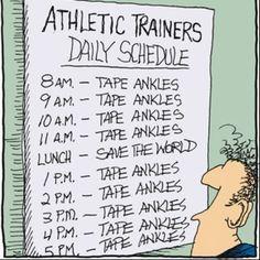 athletic training hu