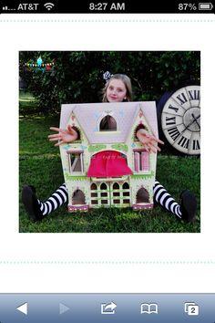 Alice in wonderland photo prop
