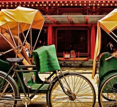 loved rickshaws as a kid ... besides the picture of me sitting in one with glasses and frizzy hair, lol!