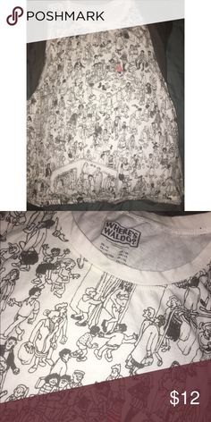 Wheres Waldo Tank 1X forever 21 New without tags wheres waldo tank top size 1X Forever 21 Tops Blouses