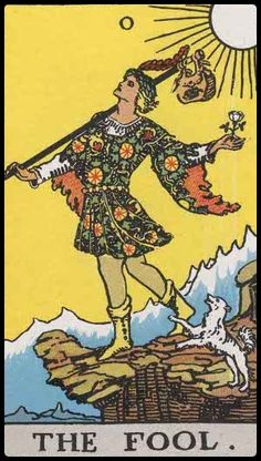 A card for our time, no fear allowed. We must take the leap of faith to pure love with no judgementalism and no exceptions. It is the zero--zero ego and all love.