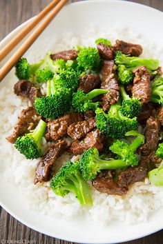 Why order Beef  Broccoli for the kids when you can make it easy at home in the slow cooker?! | Cooking Classy