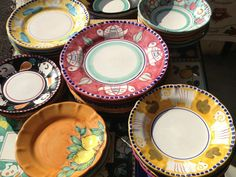 Amalfi coast ceramics