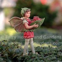 Strawberry Flower Fairy-Cicely Mary Barker Flower Fairy