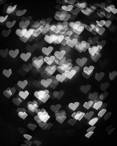Black White Bokeh Photography