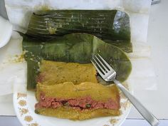 pasteles de Puerto Rico Stay with us in our hostel . Enjoy the real Puerto Rico: www.islandtimehostel.com