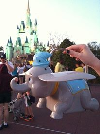 Disney World Personal Shopper: Dumbo Popcorn Bucket; Disney Magic Kingdom
