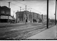 Northeast corner Dufferin and St. Clair, 1920