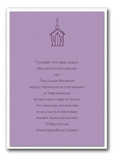 Chritian wedding invitation templates shower for Samples of christian wedding invitations