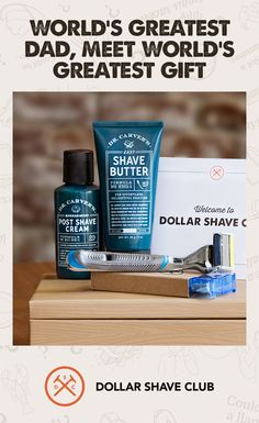 The Father's Day Shave Set from Dollar Shave Club is the perfect gift for Dad, Grandpa, and your one weird Uncle. It comes in a fancy shmancy box with optional gift wrapping in exclusive DSC paper. The Shave Set includes everything Dad needs for the gentlest shave imaginable: the Executive Razor, Dr. Carver's Shave Butter, and Dr. Carver's Post-Shave Cream. Get ready to be Dad's favorite this year.