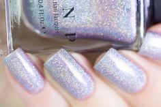 Home Sweet Home is a stunning soft lavender Ultra Holo nail polish with an…