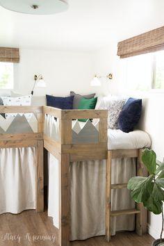 9 best l shaped beds images boy rooms bunk beds kid bedrooms rh pinterest com