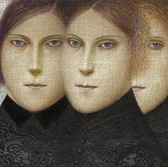 Painting by Vladimir Dunjić (b. Serbia), Never More. Roald Dahl, Serbian, Figure Painting, Contemporary Artists, Illustration Art, Illustrations, Art History, Fine Art, Comics