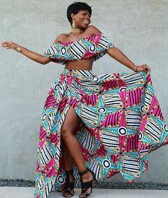 African American Fashion Blazer And Skirt African Prom Dresses, African Dresses For Women, African Attire, African Wear, African Women, African Style, African Beauty, Maxi Dresses, African American Fashion