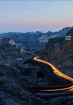 So wonderful photography of the Buzi pass Kund Malir Balochistan Pakistan