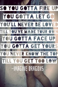 Second entry. I'm so Sorry by Imagine Dragons.