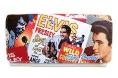 Licensed Elvis Presley Collage Wallet