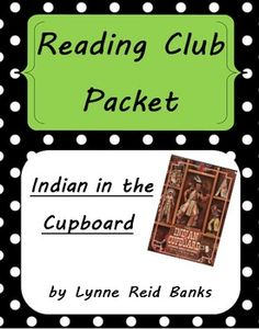 Free Indian in the Cupboard Activities