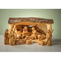Olive Wood Nativity set carved nativity with stable creche grotto Holy Land Christmas Nativity Scene, Nutcracker Christmas, Christmas Wood, Christmas Tree Ornaments, Christmas Crafts, Christmas Decorations, Nativity Scenes, Nativity Creche, Felt Ornaments