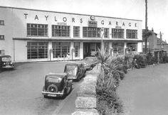 Taylor's Garage (1950s)  Penzance, Cornwall