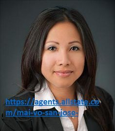 Mai Vo is your local San Jose Allstate agent and offering financial services like as home, Auto, and life insurance contact us and get free qoute. https://agents.allstate.com/mai-vo-san-jose-ca.htm