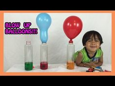 Baking soda and vinegar Easy Science experiments for kids BALLOON BLOW … - Kids education and learning acts Fun Experiments For Kids, Science For Kids, Science Fair, Education Humor, Science Education, Kids Education, Kindergarten Science Activities, Preschool, Blowing Up Balloons