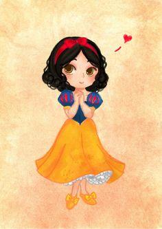 Snow White~ by Natalia Fanchini