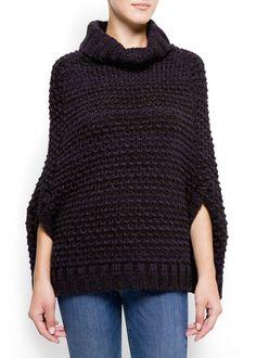 Capa de malha - Cardigãs e camisolas de Mulher | MANGO Portugal