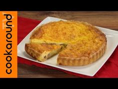 Quiche lorraine / Ricette torta salata - YouTube