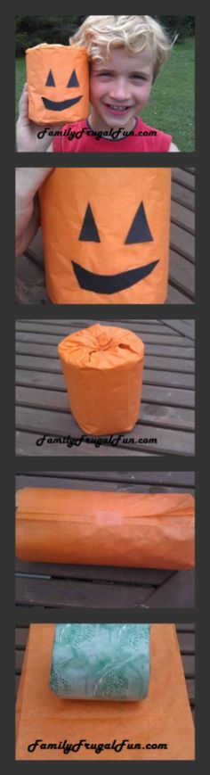 Here is a fun frugal craft for kids this Halloween season - Toilet Paper Pumpkins. Kids love 'em and they look adorable in your bathroom.