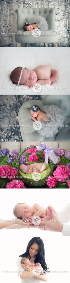 newborn princess in flower garden...if i had a girl..