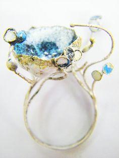 Anello Collezione Under Blue - Daniella Saraya Jewelry