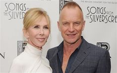 Trudie Styler with husband Sting