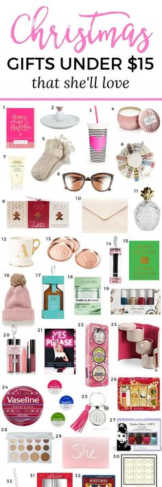 cbbcfd79bd The Best Christmas Gift Ideas for Women Under  15