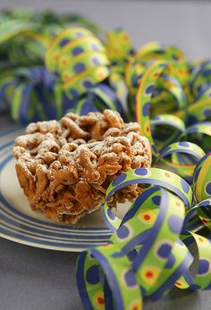 """May-Day Fritter, called """"tippaleipä"""" in Finnish"""