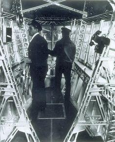 USS Macon Interior: Control car.