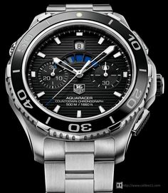 First look at the TAG Heuer Aquaracer Ceramic Calibre 16 Chronograph, Ref. Fine Watches, Sport Watches, Cool Watches, Rolex Watches, Retro Watches, Dream Watches, Tag Heuer Aquaracer Chronograph, Swiss Army Watches, Watch Photo