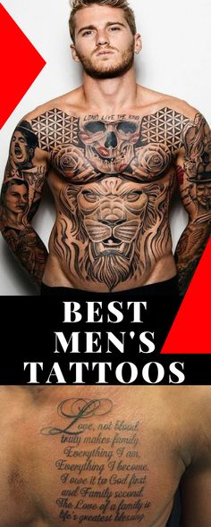 Men's Tattoos Ideas - Inspiration and Designs for Guys - best Men's Tattoos images #tattoos #guys
