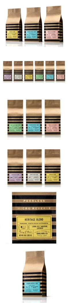 Peerless Coffee is a Bay Area Favorite With a Sophisticated New Look — The Dieline | Packaging & Branding Design & Innovation News