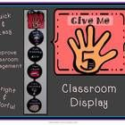 "Print this fun Give Me 5 classroom display to reinforce clasroom management.  ""Give Me 5"" is a simple phrase that you can use to get your students ..."