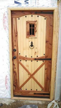 Door i built.