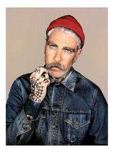Miles 'Beanie' by MrElbank on Etsy, £3.85 #beard #beards