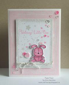 Paper Pawz: Sweet Baby Girl!