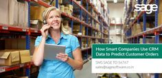 How Smart Companies Use CRM Data to Predict Customer Orders