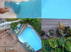 terrasse bois marseille,slowgarden,relooking,amenagement terrasse marseille,vauban,murs bleus,murs de couleurs,plans terrasse,peinture