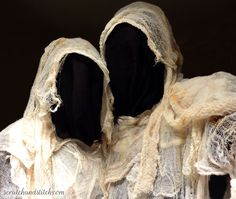 Quick and Creepy Cheesecloth Ghost Costume - scratchandstitch.